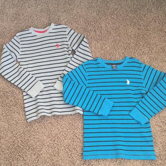 Boys U.S Polo ASSN Thermal Top Size 14//16